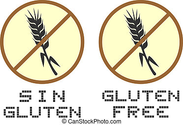 Gluten free - Creative design of gluten free