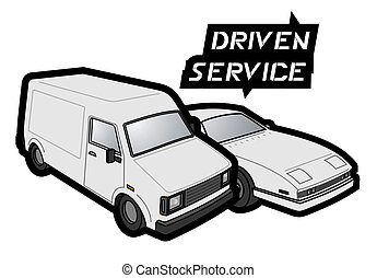 Driven service - Creative design of driven service
