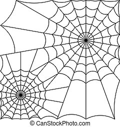 cobweb vector spider web vector