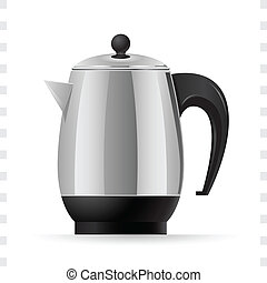 Coffee Pot Icon - Illustration of Coffee Pot icons for your...