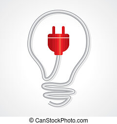 electricity and lighting concept - electricity and lighting,...