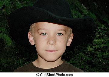 6 year old cowboy