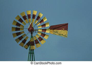 colorfull, moinho de vento