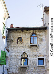 street in Porec, Croatia