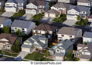 Suburbia - Typical american suburban development.