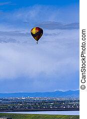 Hot air balloon - Annual hot air balloon festival in Erie,...