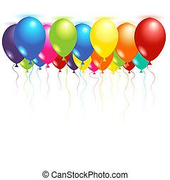 plafond, Ballons
