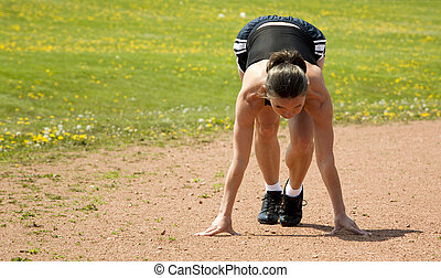 runner start