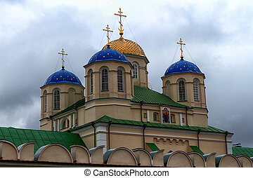 Mezhiritsky Holy Trinity Monastery XVI ages Ostrog Ukraine