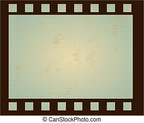 roll of film over blue background vector illustration