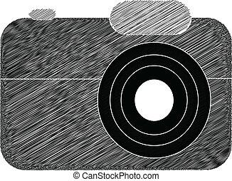 Vintage camera sketches
