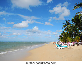 Las Terrenas beach, Samana peninsula, Dominican Republic