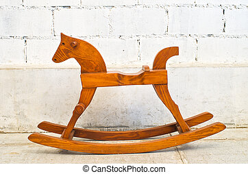 rocking horse chair - wooden rocking horse chair children...