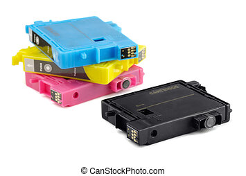 Printer ink cartridges - Four printer ink cartridges...