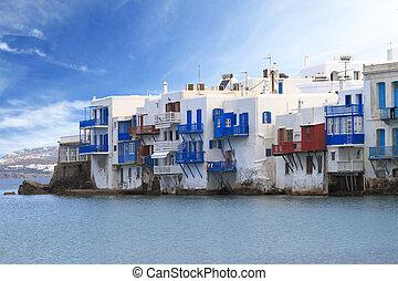 Little Venice of Mykonos, Greece