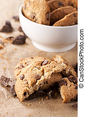 Chocolate biscuit - Sweet homemade chocolate biscuit....