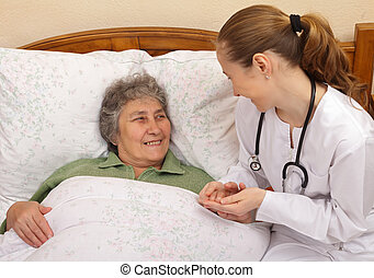 Elderly home care - Quality of care for elderly people...