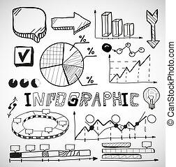 圖,  infographic, 事務,  doodles