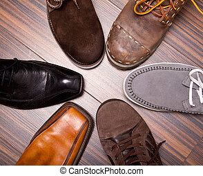 Shoes - Several designs of mens shoes
