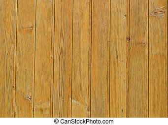 Wood cladding background texture in a light coloured wood...