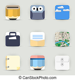 App Icons vector set