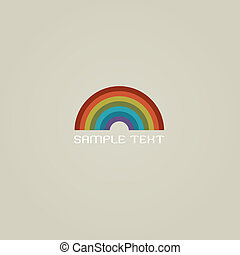Stylish Rainbow icon
