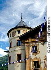 Architectural Detail in Innsbruck