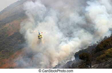 Barnett Fire - Brush fire in Ventura, California The fire...