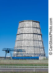Thermal power plant cooling tower