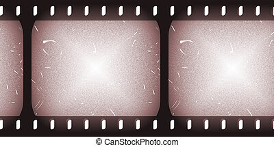 Film Roll Clip Art Faded and Old