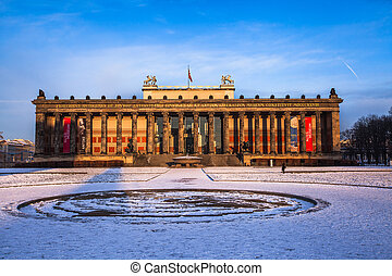 Old Museum on the Museum Island Berlin