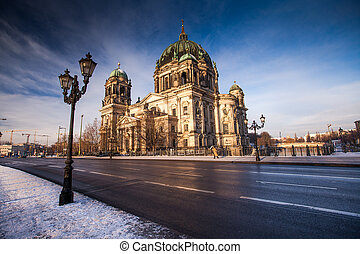 Berlin Cathedral with lantern