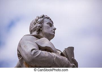 Friedrich, Schiller, standbeeld