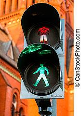 traffic light - green traffic light