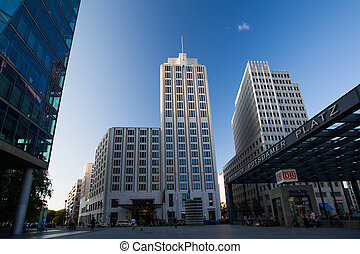 The Ritz-Carlton hotel at Potsdamer Platz in Berlin