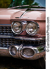 Cadillac - headlights of a Cadillac