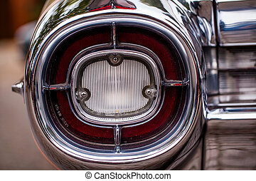 Cadillac - rear lamps of a Cadillac
