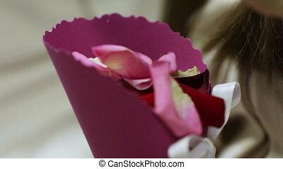 Petals wedding ceremony