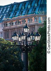 old lantern - historic street lantern in Berlin