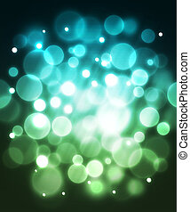 Blue fiber optic abstract background. Glowing focus effect....