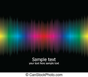 Abstract rainbow colours background Modern vector...