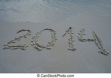 2014 year on the sand