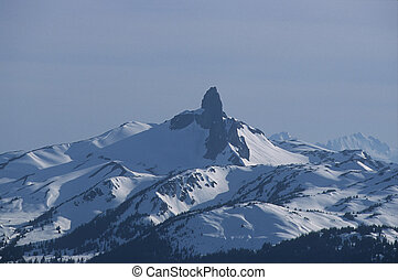 Black Tusk Mtn in winter
