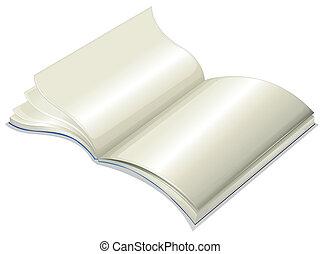 An empty notebook