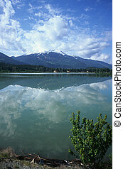 Green Lake and Whistler Mountain - Green Lake Whistler...