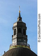 church spire - Queen-Louise-Memorial-Church