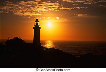 Lighthouse Sunrise.