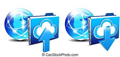 America Upload Download folder