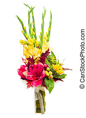 colorful flower bouquet arrangement centerpiece from...