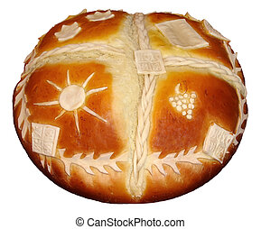 Patron Saint Celebration Cake - Traditional Serbian Patron...